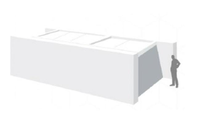 Configuración entre paredes